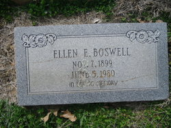 Ellen Elizabeth <i>Hvidberg</i> Boswell