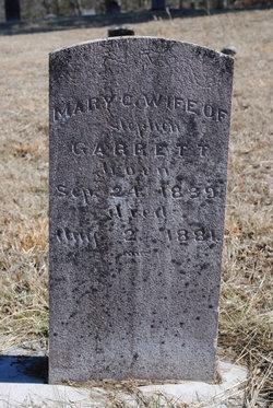 Mary <i>Carnes</i> Garrett
