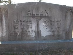 Ada Lucretia <i>Munnerlyn</i> Allen
