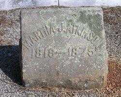 Martha Jane <i>Fort</i> Atkinson