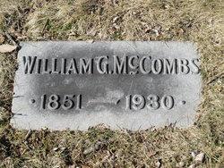 William G McCombs
