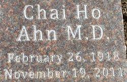 Dr Chai Ho Ahn