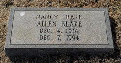 Nancy Irene <i>Eggleston</i> Blake