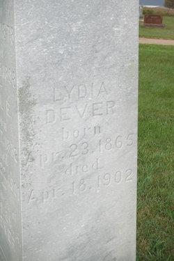 Lydia <i>Van Vactor</i> Dever