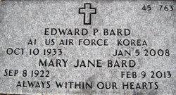 Mary Jane <i>Thomas</i> Bard