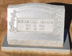 Miriam <i>Mack</i> Amaker