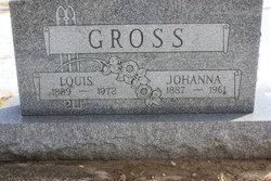 Johanna M. Honnie <i>Hundt</i> Gross