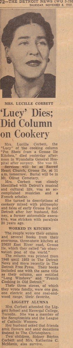 Lucille Corbett