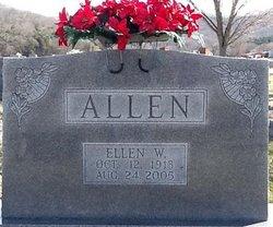 Ellen W Allen