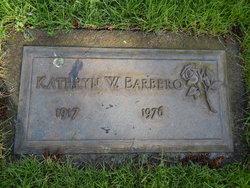 Kathyrn <i>Warner</i> Barbero