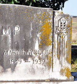 Mary Elizabeth Molly <i>Haygood</i> Camp