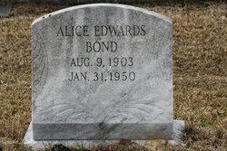 Alice <i>Edwards</i> Bond