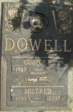 Mildred <i>Middleton</i> Dowell