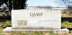 Alma F <i>Schwenkenberg</i> Camp