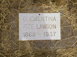 Clementina <i>Fite</i> Lawson