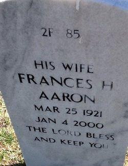 Frances H Aaron