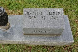 Christine <i>Moore</i> Clement