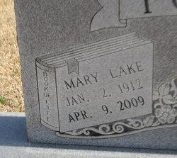 Mary Lake <i>Butts</i> Fowler