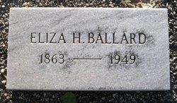 Anne Eliza <i>Harrison</i> Ballard