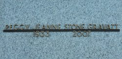 Peggy Jeanne <i>Stone</i> Gravatt