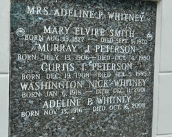 Adeline <i>Peterson</i> Whitney