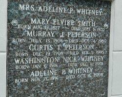 Washington Whitney, Jr.