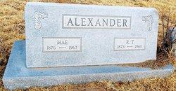 Mae <i>Palmer</i> Alexander