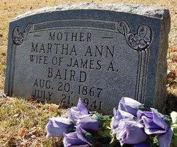 Martha Ann Baird