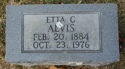 Etta G. <i>Nation</i> Alvis