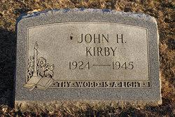 PFC John H Kirby