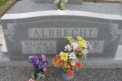 William Fritz Albrecht, Sr