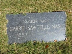 Carrie <i>Sawtelle</i> Nash