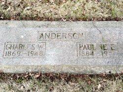 Pauline Etta Polly <i>Mason</i> Anderson