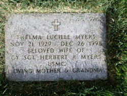 Thelma Lucille Myers