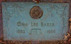 Oma Lee Baker