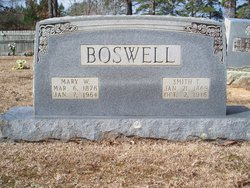 Mary W Boswell