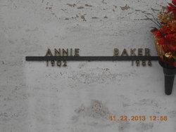Annie <i>Amerman</i> Baker