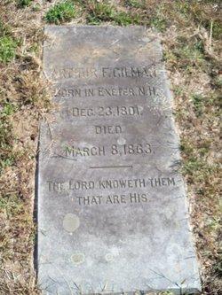 Arthur F. Gilman