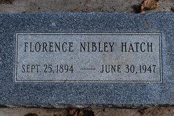 Florence <i>Nibley</i> Hatch