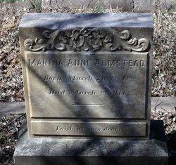 Martha Anne Armstead