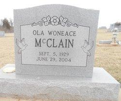Ola Woneace <i>Mauldin</i> McClain