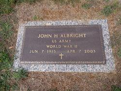 John Herbert Albright