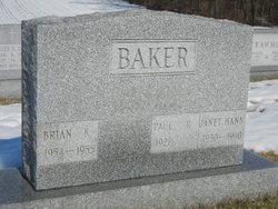 Janet <i>Hann</i> Baker