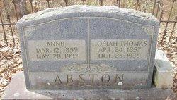 Annie Harriet <i>Craft</i> Abston