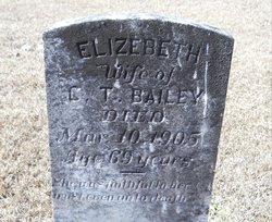 Elizabeth Betsy <i>Bridgeman</i> Bailey
