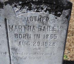 Martha <i>Martin</i> Bailey