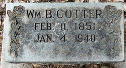 William B Cotter