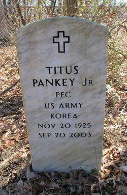 PFC Titus Pankey, Jr