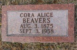 Cora Alice <i>Myers</i> Beavers
