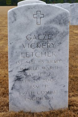 Galze Vickery Letcher